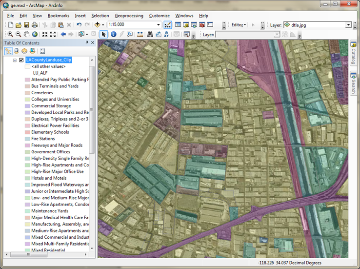 How To: Add a Google Earth Satellite Image Into ArcMap ... D Satellite Maps Google Earth on