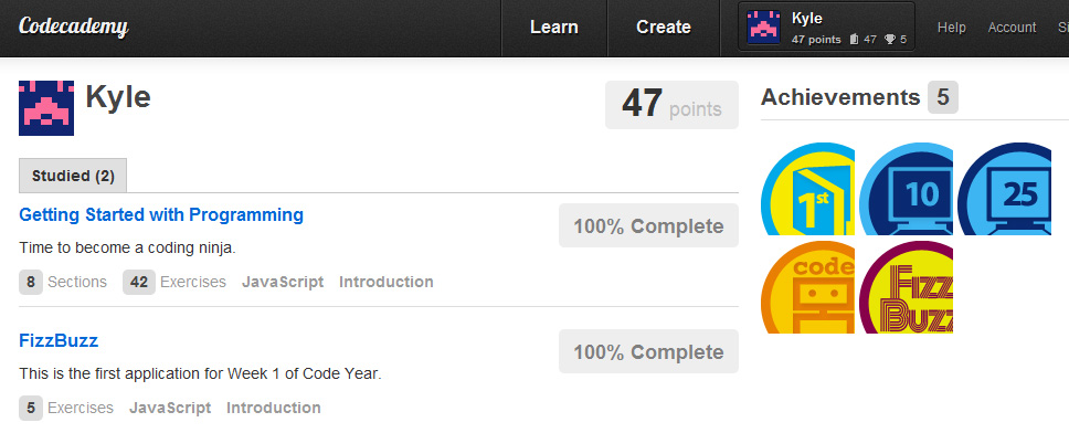 Scholz Week 1 Codecademy