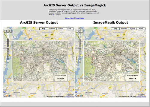ArcGIS Server vs Image Magick
