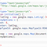 Create your own web based maproom using Google Maps API